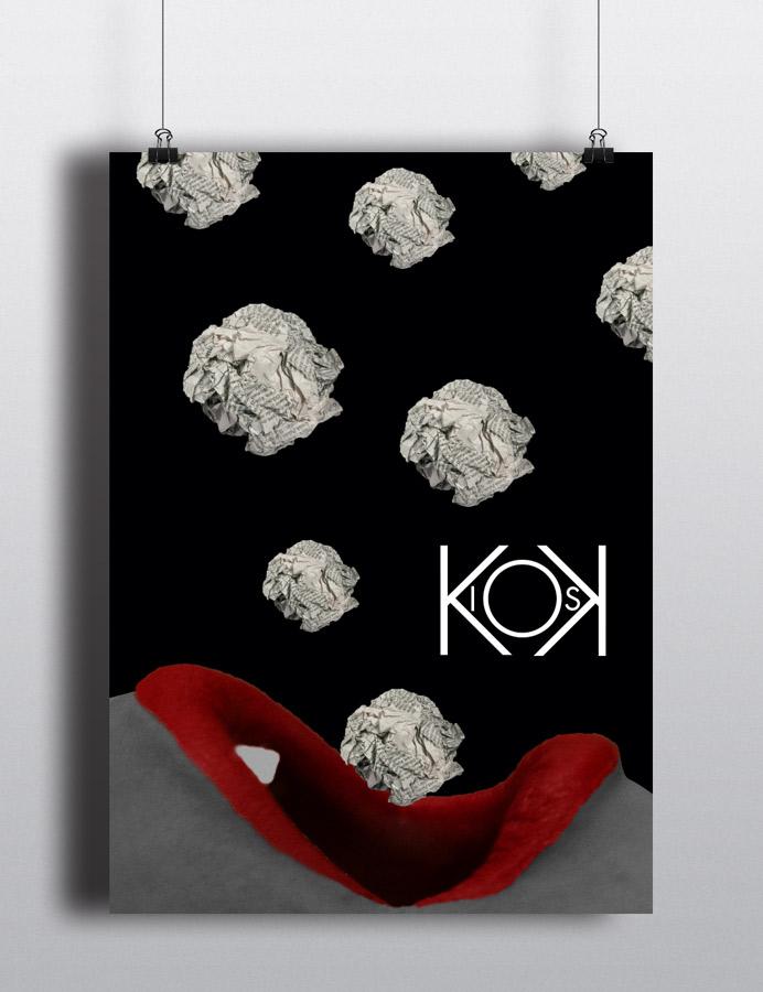 Kiosk-poster